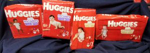 Huggies diapers $6.50 each for Sale in Moreno Valley, CA