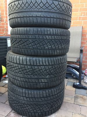 continental tires staggered set size 20 for Sale in Manassas, VA