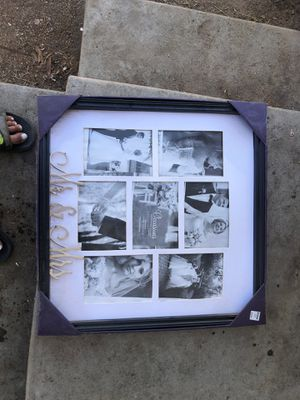 Brand new wedding picture frame for Sale in Visalia, CA