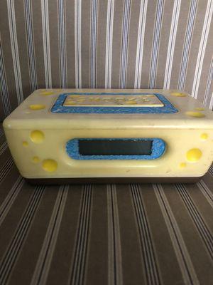 Sponge-bob alarm clocks - needs 9 volt power cord for Sale in Orlando, FL