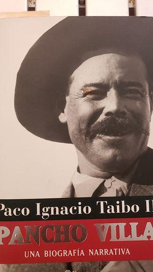 Una biography narrative del gran escritor mexicano Paco Ignacio Taibo II Pancho Villa for Sale in Tacoma, WA