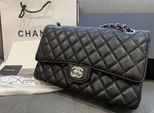 Brand New Classic Chanel Medium Double Flap Bag Caviar Leather for Sale in ROWLAND HGHTS, CA