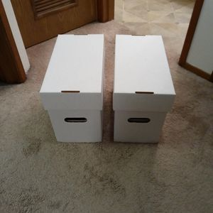 2 Short Comic Book Boxes for Sale in Seattle, WA
