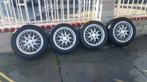Honda 4 lug 16 inch rims in really good condition all 4 of them for Sale in Los Angeles, CA