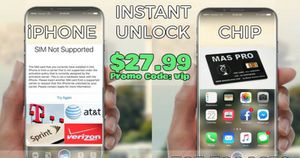 Unlocked any iPhone 5-6-7-8-x $30 for Sale in New York, NY