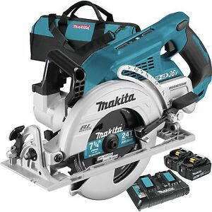 New Makita 18-Volt X2 LXT 5.0Ah Lithium-Ion (36-Volt) Brushless Cordless Rear Handle 7-1/4 in. Circular Saw Kit. Price is FIRM. $270 for Sale in Monterey Park, CA