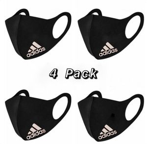 Adidas and Nike - Black Reusable Face Mask - Antibacterial- Dust proof for Sale in Salt Lake City, UT