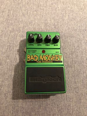 Digitech Bad Monkey Tube Overdrive Guitar Pedal for Sale in Portland, OR