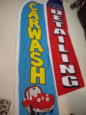 Banderas para car Wash. for Sale in Progreso Lakes, TX