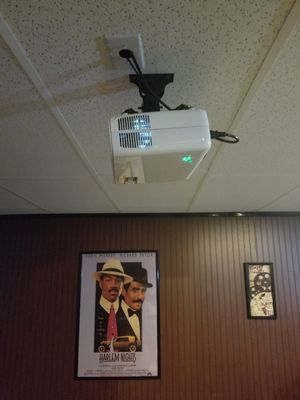 Movie Theater Projector/ 130inch Framed wall Screen for Sale in Manassas, VA
