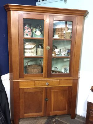 Beautiful antique 1800's cherry corner cabinet! for Sale in Westerville, OH