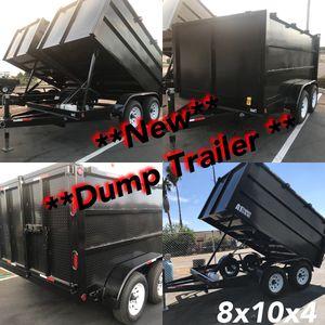 Dump Trailer 8x10x4 for Sale in Garden Grove, CA