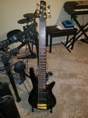 Ibanez SR 806 limited edition $800 obo for Sale in Houston, TX