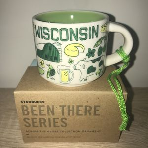 Starbucks Mug Ornament Wisconsin Mug Been There Series BTO for Sale in Sterling, VA