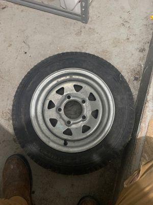 Trailer tire new and wheel for Sale in Pompano Beach, FL