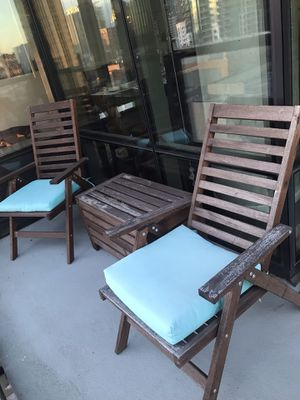 Wood Patio Set for Sale in Seattle, WA