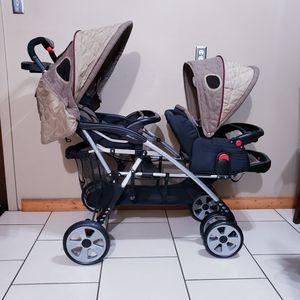 Eddie Bauer double stroller for Sale in Pasadena, TX