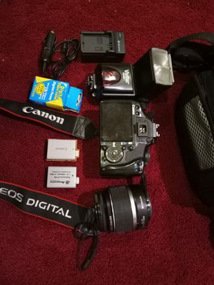 "Canon EOS Rebel XSi / 450D 12.2MP 3"" Screen Digital SLR Camera Black. for Sale in Germantown, MD"