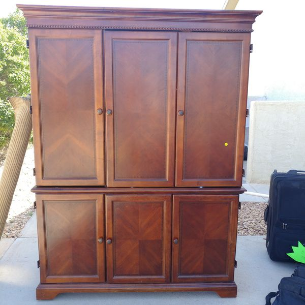 Large hutch for computer or tv