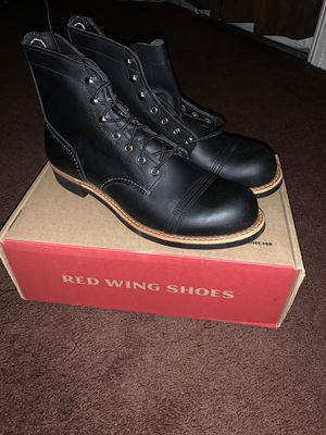 Red wings boots for Sale in Montebello, CA
