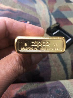 Marlboro vintage zippo bronze lighter brand new for Sale in Castro Valley, CA