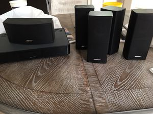 Bose CineMate 520 / Bose mate520/ Bose mate 520/Bose Cinemate 520 Excellent condition / home theater speaker /pick up only , Guadalupe and Val Vista for Sale in Gilbert, AZ