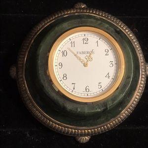 Antique Silver Faberge Desk Clock for Sale in Chino, CA