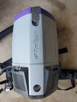 Pro Team vacuum commercial back back super coach pro 6 for Sale in Humble, TX
