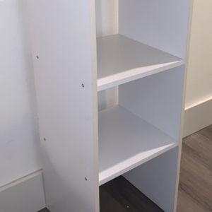 White Shelf, Bookshelves, Storage Cube for Sale in Seattle, WA