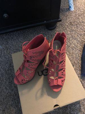 Cognac heels size 8 for Sale in Fresno, CA