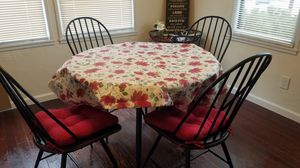 Table with 4 chairs for Sale in Porterville, CA
