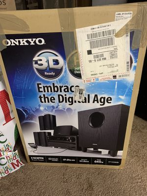 Onkyo Surround System 5.1 for Sale in Weston, MA