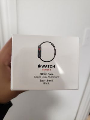 Apple Watch/Reloj series 3 38mm WIFI+CELLULAR NEVER BEEN USED. for Sale in Dallas, TX