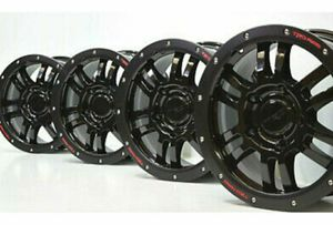 "17"" Toyota Tundra TRD Rock Warrior Wheels Rims FACTORY OEM Black for Sale in Solana Beach, CA"