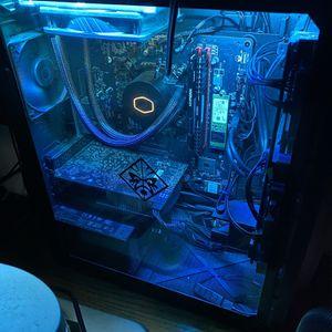 """Custom HP Omen i7 9700 & Dell 32"""" Monitor for Sale in Addison, IL"""
