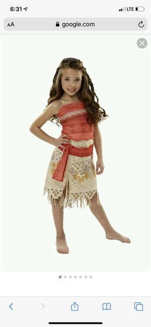 Moana Disney costume for Sale in Los Angeles, CA