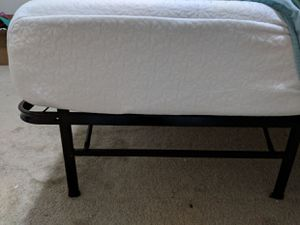 Queen Memory foam mattress+ BED FRAME for sale, for Sale in Memphis, TN