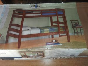 Bunk bed no matress brand new for Sale in East Saint Louis, IL