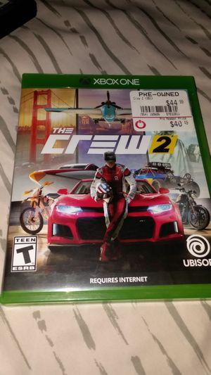 Xbox one The crew 2 for Sale in Wichita, KS
