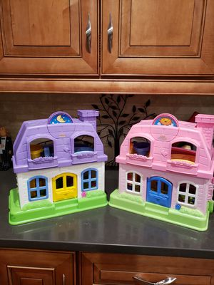 Cute Fisher Price Little People Happy Sounds Doll Houses - 2 Available for Sale in Lakewood, CO