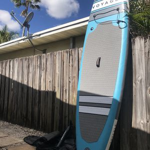 """Voyager Inflatable Paddle Board 10'6"""" for Sale in Fort Lauderdale, FL"""