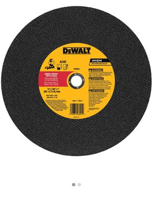 dewalt chop saw blades for Sale in Greenbelt, MD