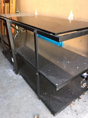 3 Tier Glass TV Stand for Sale in Frederick, MD