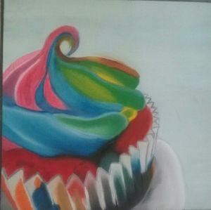 Cupcake Original Pop Art for Sale in Dallas, TX