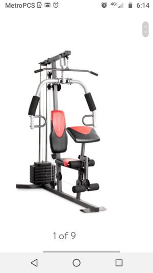 Home gym 250pds resistance for Sale in Calverton, MD