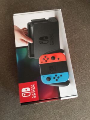 Nintendo Switch New for Sale in Hartford, CT