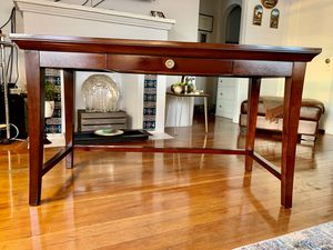Beautiful Pottery Barn Desk - Table Espresso for Sale in San Diego, CA