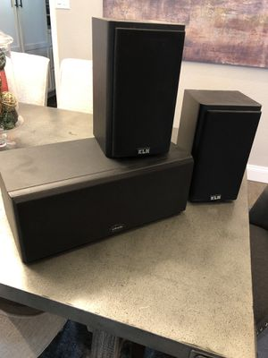 KLH and Polk Audio Bookshelf and Center Speakers for Sale in Phoenix, AZ