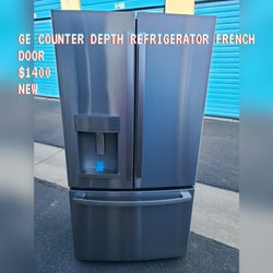 GE COUNTER DEPTH FRENCH DOOR REFRIGERATOR NEW OPEN BOX for Sale in Chino,  CA