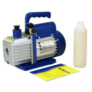 3,5 CFM Rotary Vane Vacuum Pump 1/4HP HVAC R134a Air Refrigerant Conditioning for Sale in Wildomar, CA